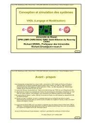 VHDL, langage et Modélisation