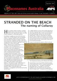 STRANDED ON THE BEACH - ANPS