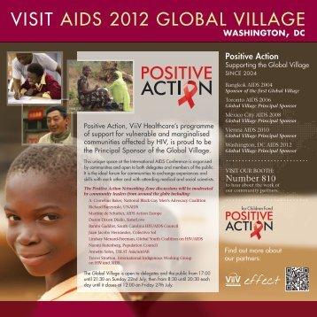VISIT AIDS 2012 GLOBAL VILLAGE - ViiV Healthcare