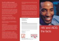 NAT - HIV and AIDS - the facts - ViiV Healthcare