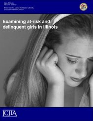 Examining at-risk and delinquent girls in Illinois June 4, 2009
