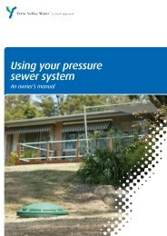 What do I need to know about pressure sewer systems?