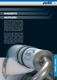 MARMITTE MUFFLERS - Central Ricambi