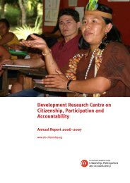 Citizenship DRC Annual Report 2007