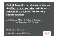 Optical Refraction: an alternative View on the Effect of Nanoparticles ...