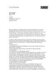Leseprobe #7845 - Dumont Buchverlag