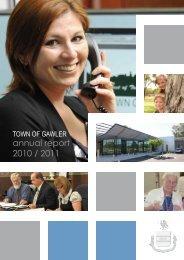 annual report 2010 / 2011 - Town of Gawler - SA.Gov.au