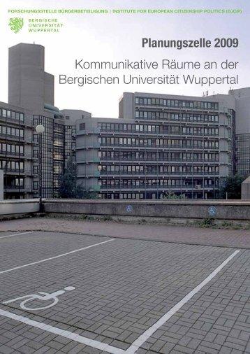Ergebnisse Tag 1 - QSL - Bergische Universität Wuppertal