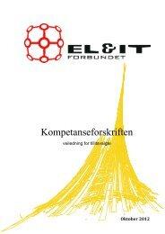 Kompetanseforskriften - veiledning for tillitsvalgte - El og it forbundet