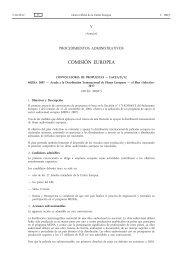 Ayuda a la Distribución Transnacional de Filmes Europeos - EUR-Lex
