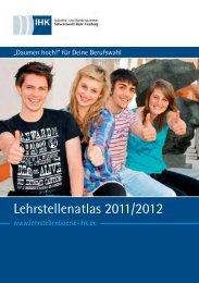 Lehrstellenatlas 2011/2012 - IHK Schwarzwald-Baar-Heuberg