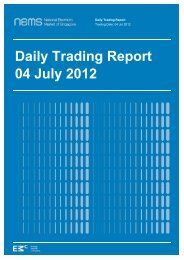 Daily Trading Report 04 July 2012 - EMC