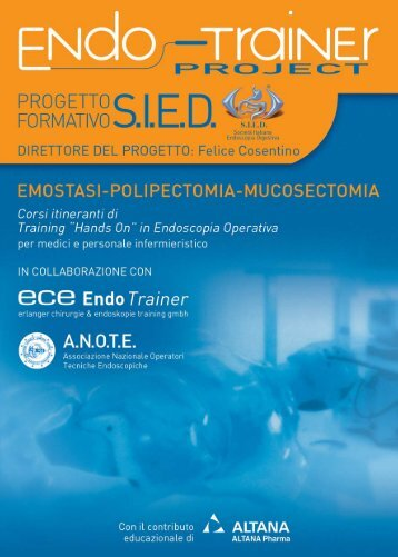 Programma Endo Trainer 2006 - EndoscopiaDigestiva.it