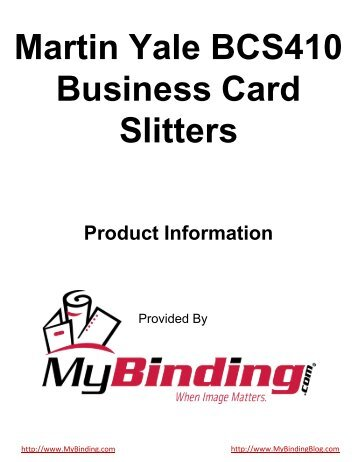 Martin Yale Gc210 Gutter Cut Business Card Slitters