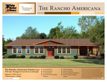 The Rancho Americana - Palm Harbor Homes