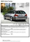 Den aktuella prislistan för BMW 3-serie Touring - Page 2