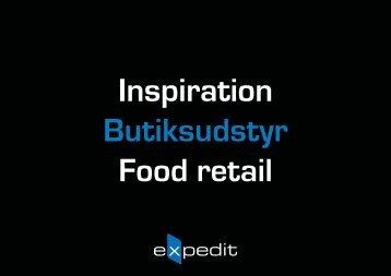 Butiksudstyr til Food retail - Expedit