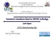 C. Trigona - Phd.dees.unict.it - Università degli Studi di Catania