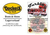 Stadionmagazin 02/2009 Turbine - SV Hermersberg II