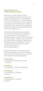 Sprach und Kulturkurse Wintersemester 2012 - Istituto Italiano di ... - Seite 3