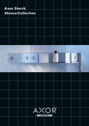 Axor ShowerCollection brochure - Hansgrohe