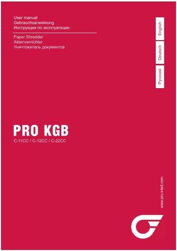 PRO KGB C-CC SERIES manual.pdf - Profindustry.com