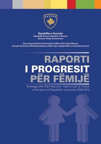 15.09.2013Raporti i progresit për fëmijë - Republika e Kosovës ...