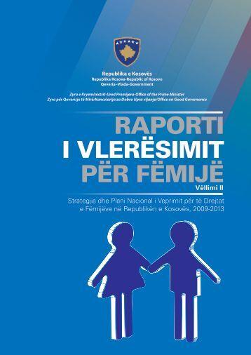14.09.2013Raporti i VlerËsimit për fëmijë - Republika e Kosovës ...