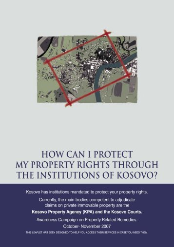 How can I protect my property rights through the institutions of ...