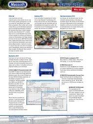 Newsletter - Massoth Elektronik GmbH
