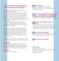 Veranstaltungsflyer - Bundesverband Information und Beratung für ...