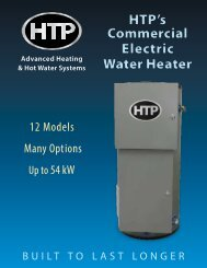 Commercial Electric - Heat Transfer Products, Inc