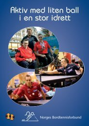 Brosjyre om integrering i særforbund - Norges idrettsforbund