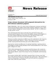 News Release 4 January 09 IER 12 Draft IER 4 - NOLA Environmental