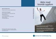 Aktiv med kronisk sygdom - Patientuddannelse