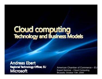 Cloud Computing - AmCham EU
