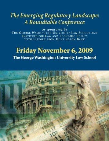 Conference - George Washington University Law School