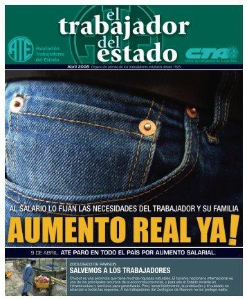 Salvemos trabajadores - ATE Jujuy