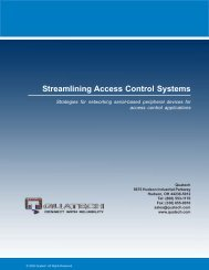 Streamlining Access Control Systems