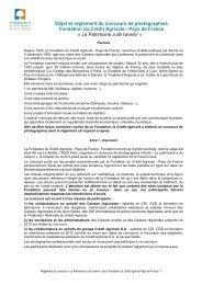 Pays de France « Le Patrimoine a de l'avenir - Crédit Agricole ...