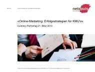 Online-Marketing - Contrexx