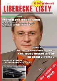 Kauza - Liberecké listy