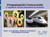 Presentación - Departamento de Lenguajes y Sistemas Informáticos ...