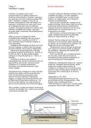 Tiltag 11: Generel beskrivelse Ventilation i suglag - Boligejer
