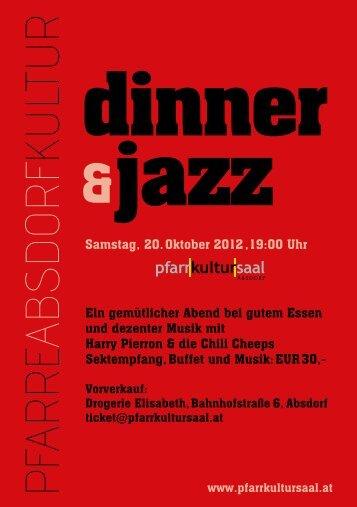 dinner &jazz - Absdorf