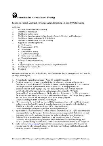 Scandinavian Association of Urology