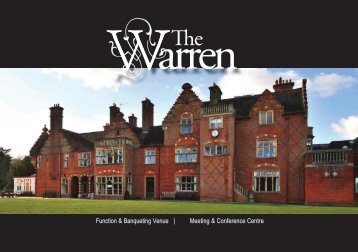 The WarrenBrochure(2013)