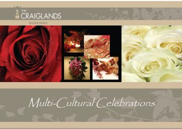 Multi-Cultural Celebrations - Craiglands Hotel