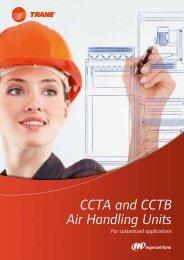 CCTA and CCTB Air Handling Units - Trane