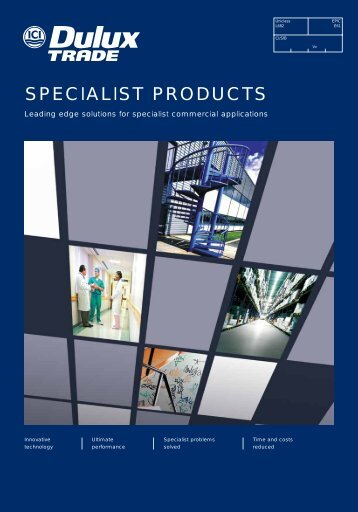 SPECIALIST PRODUCTS - Dulux Trade